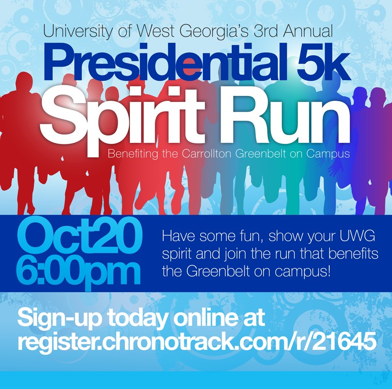 UWG Presidential 5K Spirit Run