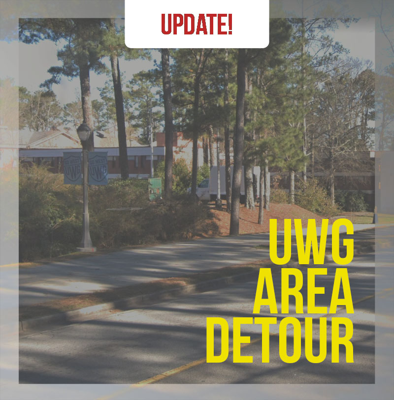 Trail Closure at UWG